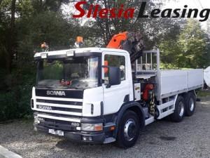 Scania P124 z dźwigiem HDS